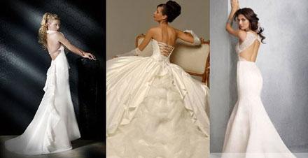 Практически каждая невеста мечтает о свадебном платье с открытой спиной, которое делает любую девушку более элегантной и желанной. Вот почему многие невесты