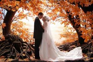 осення свадьба - лучшее время года