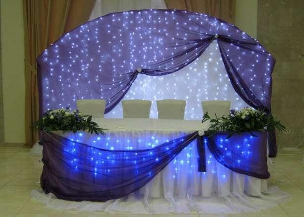 Украшения в зал на свадьбу своими руками