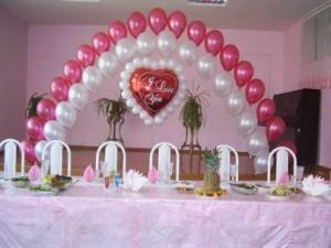 Свадьба и украшение воздушными шарами: как все сделать самостоятельно?