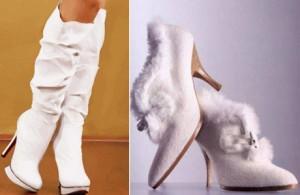 Зимняя свадебная обувь: в чем ходят невесты зимой?
