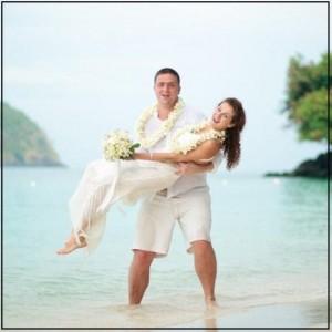 Свадебное путешествие в экзотической стране