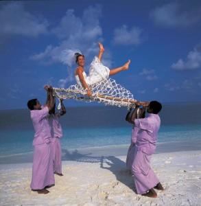 Веселая свадьба на Маврикии