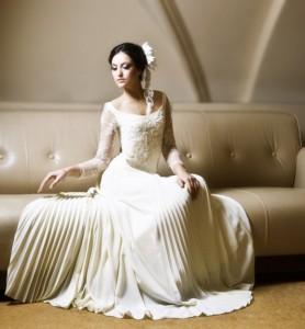 Пошив свадебных платьев на заказ актуален для желающих отличиться особ