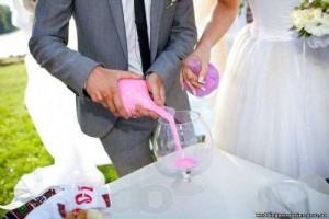 Слияние душ с на песочной церемонии: цветной песок купить