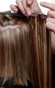 Свадебная прическа невесты: роскошные накладные волосы на заколках: как крепить