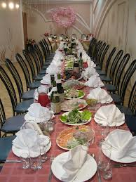 Свадебный банкет на 40 человек- самая популярная услуга в кафе и ресторанах