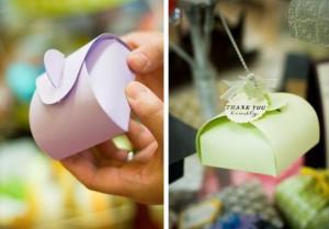 Свадебные бонбоньерки купить или сделать своими руками?