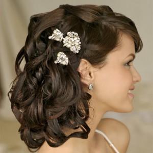 Свадебная прическа невесты – накладные волосы на заколках: как крепить