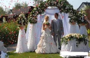 Флористическое оформление свадьбы-элегантность во всем