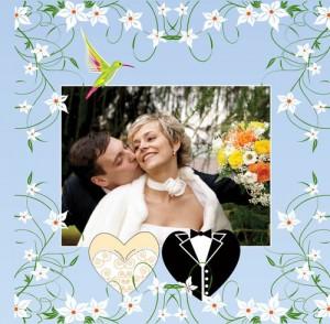 Если вам нужно сделать свадебный фотоальбом своими руками