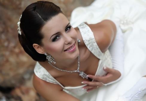 Бижутерия на свадьбу для невесты фото