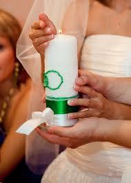 Свечи на свадьбу - красивая традиция
