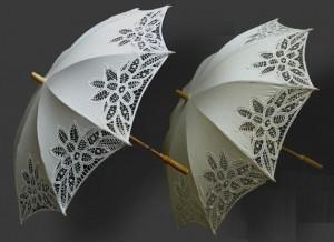 Свадебный зонт - любимый аксессуар невест