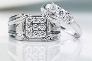 Стильные обручальные кольца Cartier