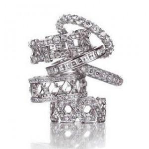 Свадебные кольца Тиффани – это утонченность и благородство