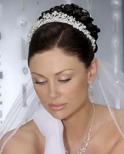 Диадема - украшение невесты