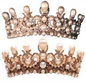 Диадема для невесты- главное украшение на голову