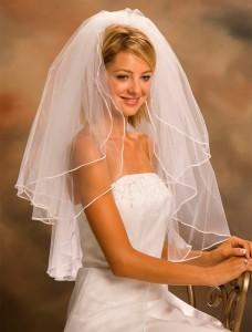 Свадебная фата для самой красивой невесты