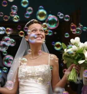 Генератор мыльных пузырей аренда и ваша свадьба - самая яркая!
