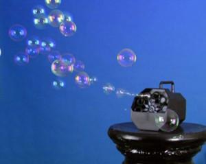 Генератор мыльных пузырей аренда и свадебное торжество