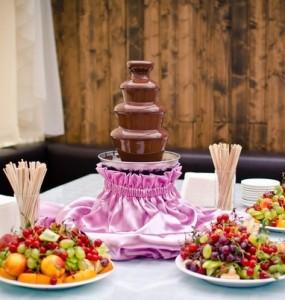 Как заказать свадебный фонтан на свадьбу