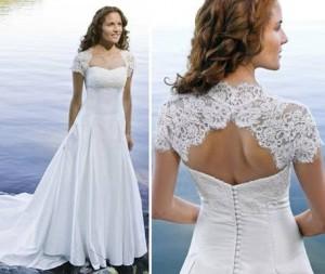 Кружева Алансон- нежные кружева для свадебных платьев
