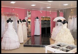 Wedding Saloon :: Дизайн свадебного салона - Свадебные платья и
