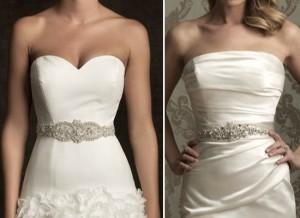 Свадебный пояс - отличны асессуар к свадебному платью невесты