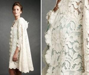 Кружева герцогиня- отличный вариант кружева для свадебного платья