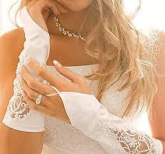 Купить свадебные перчатки: фасон и ткань