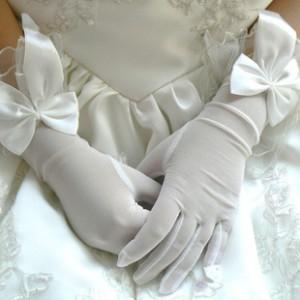 Купить свадебные перчатки, выбрать фасон и цвет