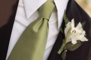 Мужской галстук для свадебного костюма- как правильно выбрать