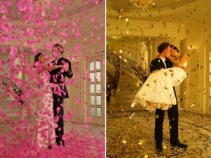 Пушка-конфетти поможет сделать самые незабываемые эффекты на вашей свадьбе