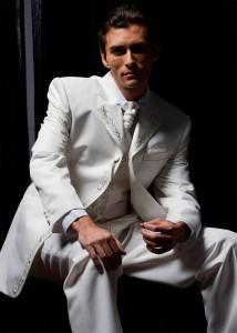 Мужской галстук для свадебного костюма