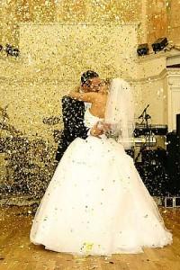 Пушка-конфетти сделает вашу свадьбу самой незабываемой