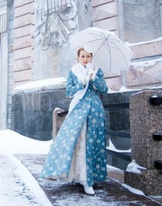 Свадебные платья зима необычайно красивые