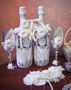 Организация свадеб Волгоград: вязаная свадьба с ее аттрибутами