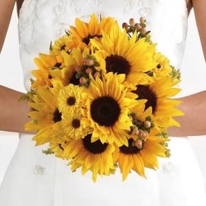 Если вы любите подсолнухи: как проводить свадьбу