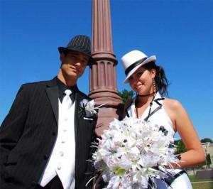 Американский стиль свадьбы во всем