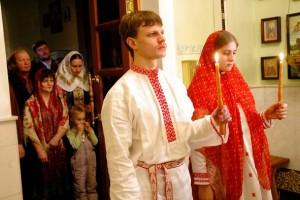 Омск: свадьба по древним обычаям Руси