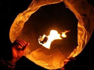небесные фонарики: Пермь заказать