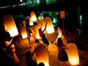 небесные фонарики: Пермь для торжества