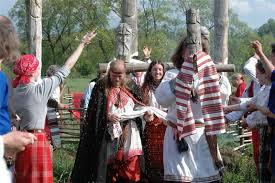Омск: свадьба в обычаях древней Руси