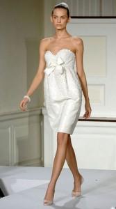 мини-платье для беременной невесты
