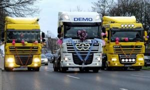 свадебные грузовики