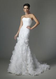 """невеста в платье """"Русалка"""""""