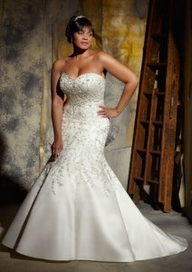 платье для полной невесты