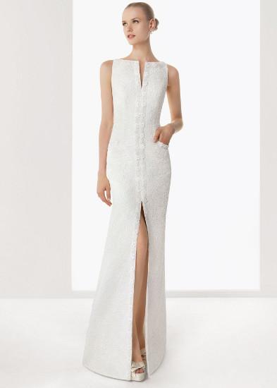 863ff42b169 Выбираем прямое свадебное платье