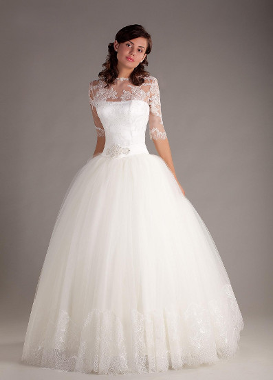Красивое Пышное Свадебное Платье 108
